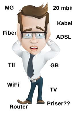 hvilket internet kan jeg få på min adresse?